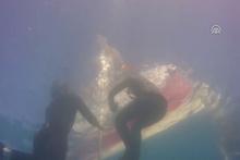 Şahika Ercümen'den Salda Gölü'nde dünya rekoru