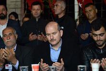 İçişleri Bakanı Soylu'dan şehit ailesine ziyaret
