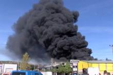 Sakarya'da korkunç yangın! Alevler fabrikayı sardı