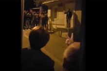 Meral Akşener'in evinin önünde gergin dakikalar
