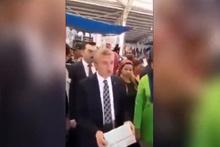 Gaziantep'te belediye başkanı, fırsatçının ipliğini pazara çıkardı!