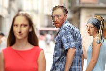 Mona Lisa'yı hiç böyle görmediniz!