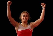 Milli güreşçi Buse Tosun, Dünya Şampiyonu oldu