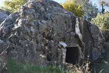 Adıyaman'da  Roma dönemine ait oyma mezar yapısı bulundu