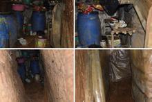 Teröristlerden 6 odalı sığınak yerle bir edildi