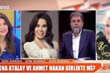 Yılın aşk bombası iddiası Ahmet Hakan ile Asena Atalay birlikte mi?