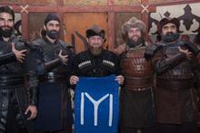 Kadirov, Diriliş Ertuğrul setinde: Oyuncuları Çeçenistan'a davet etti