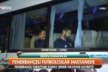 Fenerbahçe'den taziye ziyareti! Gözyaşlarını tutamadılar