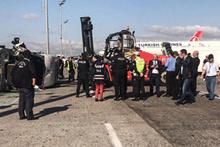 Atatürk Havalimanı apronunda korkunç kaza! Yaralılar var...