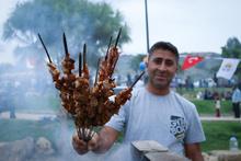 Adana'da dev 'Mangal Park' açıldı