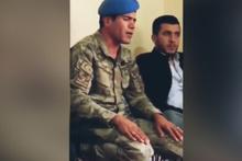 Şehit evinde askerimizden Kur'an-ı Kerim tilaveti
