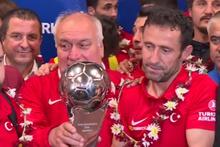 Dünya ikincisi Ampute Futbol Milli Takım futbolcular yurda döndü