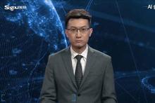 Dünyada bir ilk! Haber sunucusu robot spiker görücüye çıktı