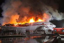 Konya'dan korkutan yangın bir ande alev aldı cayır cayır yandı...