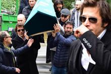 Mehmet Günsür'den babaya son bakış! Hüngür hüngür ağladı