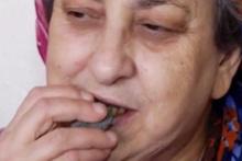 Herkesi şoke etti! Bu kadın 50 yıldır beton yiyor
