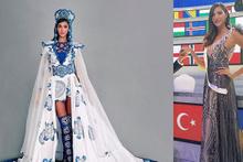 Estetikli çıkan Şevval Şahin Miss World'de ilk 30'a bile giremeyince...