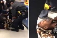 ABD'de polis vahşeti anne kucağındaki bebeğe hunharca davrandı