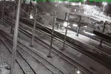 Ankara'daki hızlı tren kazasının güvenlik kamerası görüntüleri ortaya çıktı