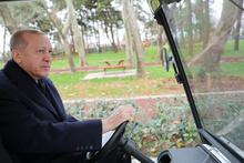 Cumhurbaşkanı Erdoğan, 15 Temmuz Millet Bahçesi'ni gezdi