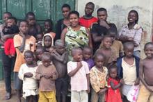 Tam 38 çocuğun annesi yaşı kadar çocukları var