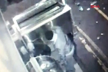 Elazığ'da 30 bin liralık hırsızlık kamerada