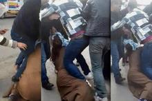 3 kadın sokak ortasında kavga etti: Sonrası korkunç!