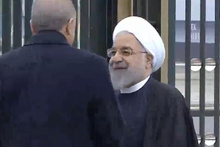 İran Cumhurbaşkanı Ruhani Türkiye'de böyle karşılandı