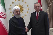 Cumhurbaşkanı Recep Tayyip Erdoğan ve Ruhani görüştü