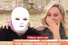 Maskeyle canlı yayına katıldı itirafları Nur Viral'i hüngür hüngür ağlattı