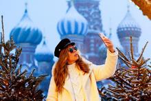 Moskova'da kar yağışı eşsiz manzaralara neden oldu