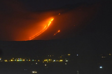 Etna faaliyete geçti korku dolu gecede 10 yaralı var