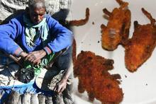 Pazarın en gözde ürünü! Pişmiş fare eti