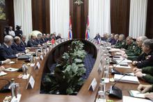 Rusya'da kritik toplantı başladı Suriye ele alınacak