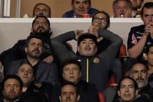 Maradona maçta alkol aldı taraftarı yumrukladı