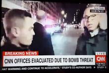 CNN binası boşaltıldı! Bomba paniği yaşanıyor