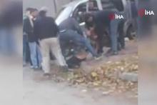 Pitbul'un saldırdığı çocuğu, köpeğin ağzından zor aldılar