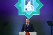 Cumhurbaşkanı Erdoğan Abdülhamid şiiri okudu