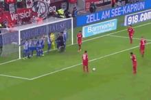 Leverkusen - Hertha Berlin maçında tarihi karambol