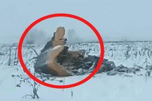 Rusya'da düşen uçaktan ilk görüntüler geldi!