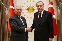 Cumhurbaşkanı Erdoğan, Tillerson'u kabul etti