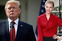 Trump'ı koridorda garson kızla ilişkiye girerken...