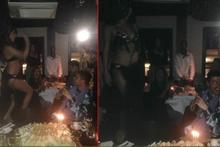 Neustadter'in dansözlü doğum günü partisi