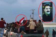 Afrin'e giren Esed güçlerinden ilk görüntüler