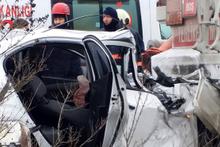 TEM'de korkunç kaza: Anne öldü, bebek ağır yaralı!