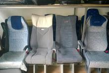 Otobüs koltuklarının desenlerinin sırrı oturuyorsunuz ama...