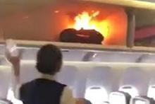 Uçakta korku dolu anlar! Şarj cihazı patladı bagajda yangın çıktı