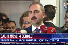 Salih Müslim'in serbest bırakılmasına hükümetten art arda tepkiler!
