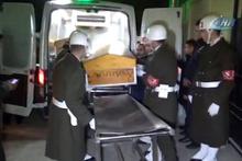 Afrin şehitlerinin naaşı Gaziantep'e getirildi