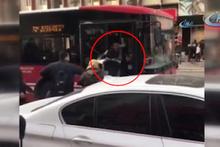 İzmir'de yol verme tartışması